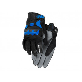 BMW Motorcycle Gloves Rallye (grey / blue)