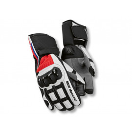 BMW Motorcycle Gloves ProRace Unisex (black / white / red)