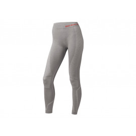 BMW Pants Thermo Women (light gray / red)
