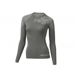 BMW Shirt Summer Women (grey / anthracite)