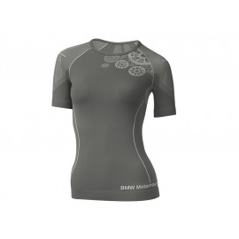 BMW T-Shirt Summer Women (grey / anthracite)