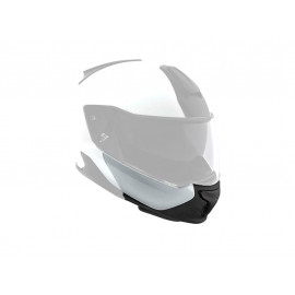BMW Chin part light white System 7 Helmet