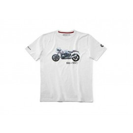 BMW R nine T Racer T-Shirt Men (white)
