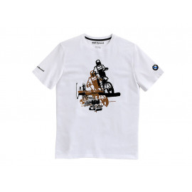 BMW T-Shirt F850GS Unisex (white)