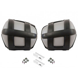 BMW Motorcycle Pannier Set Sport F800S / F800ST (codeable)
