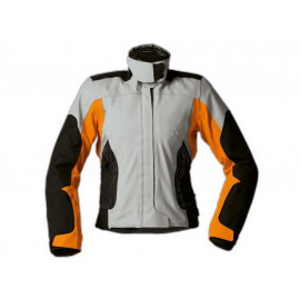 BMW Streetguard 3 Motorcycle Jacket Men (black/grey/orange)
