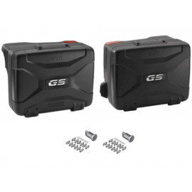 BMW Vario motorcycle pannier set (black) F750GS (2017-2019) F850GS (2017-2019) R1200GS (2013-2018) R1250GS (2018-2019) Keyless Ride
